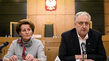 Sędziowie Trybunału Konstytucyjnego prof. Sławomira Wronkowska-Jaśkiewicz oraz prof. Andrzej Rzepliński