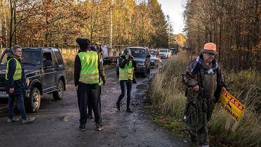 Kozłów pod Gliwicami. Ekolodzy próbują zablokować polowanie