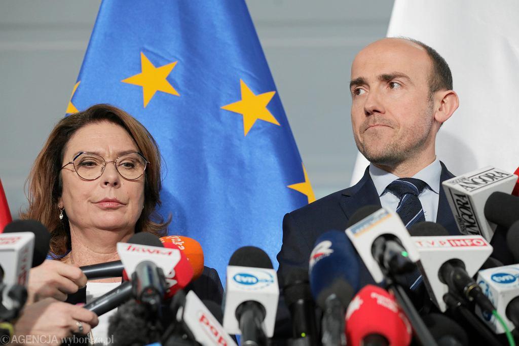 Małgorzata Kidawa-Błońska. Borys Budka. Platforma Obywatelska. Zagrożenie koronawirusem jak będzie obradował Sejm?