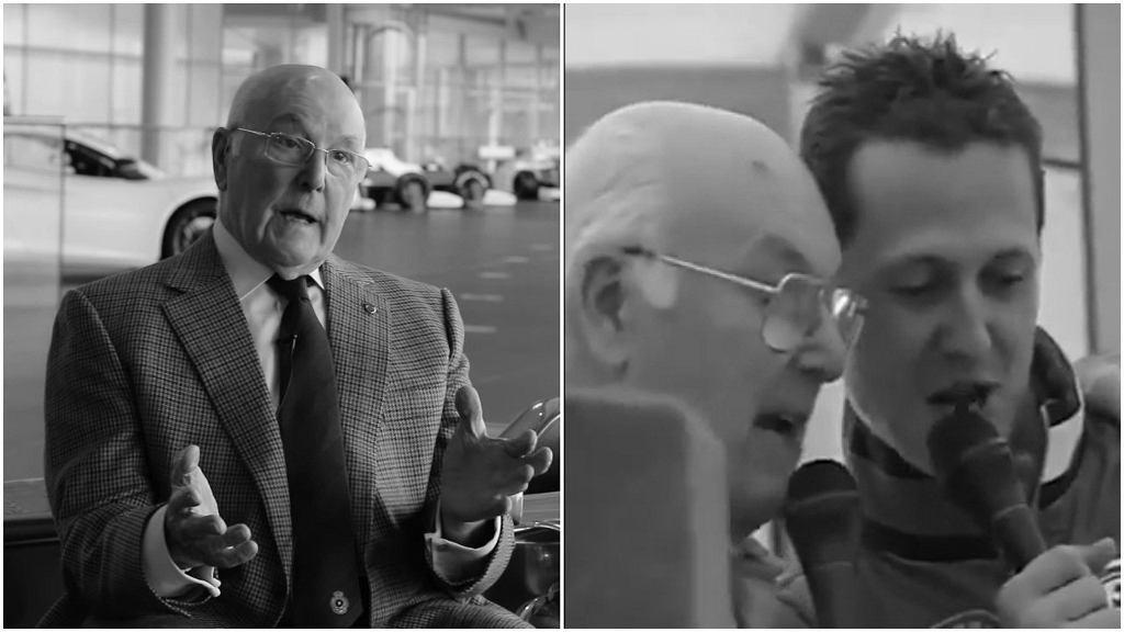 Nie żyje Murray Walker, legendarny komentator Formuły 1
