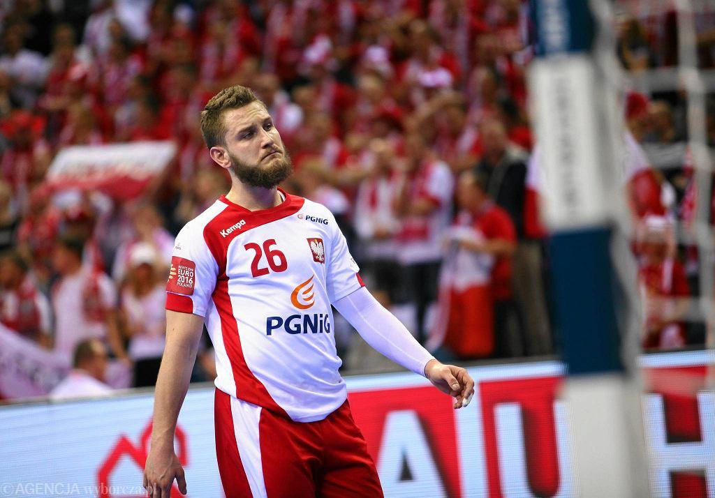 Polska - Chorwacja. Michał Daszek