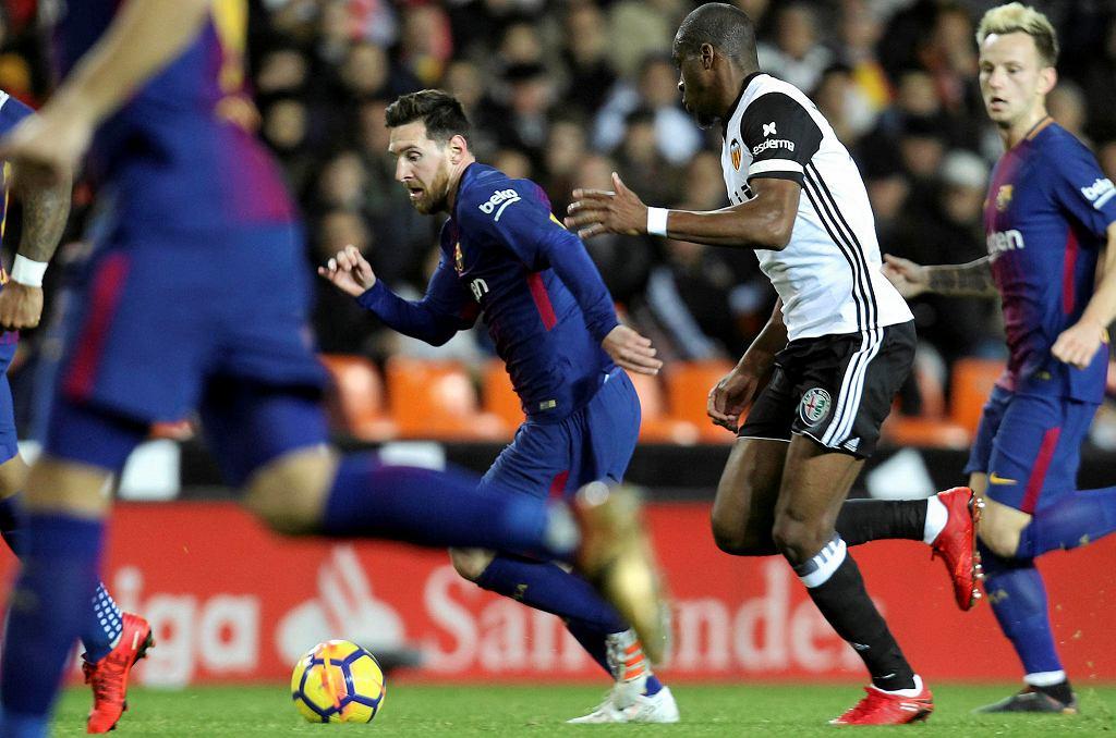 Valencia - Barcelona. Leo Messi