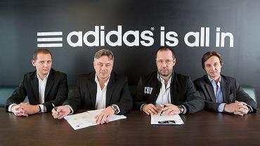 Adidas partnerem Legii do 2017 roku