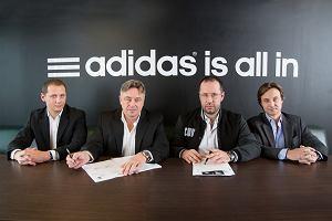 Adidas sponsorem Legii Warszawa do końca czerwca 2017 roku