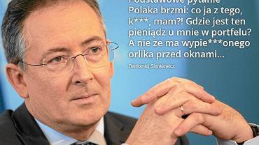 """Bartłomiej Sienkiewicz na taśmach """"Wprost"""""""