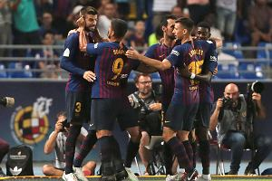 Superpuchar Hiszpanii. Sevilla - Barcelona. Pierwsze trofeum zespołu Ernesto Valverde