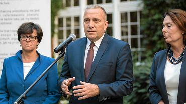 Politycy PO debatują we Wrocławiu o oświacie