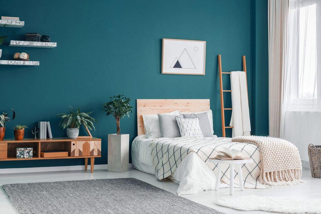 Kolory Beckers: sypialnia w turkusowej odsłonie