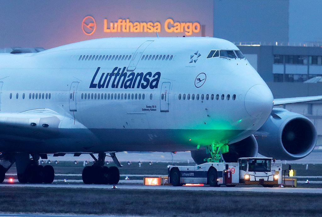 Lufthansa - samoloty
