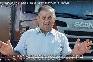 """""""Te ręce pomogły tysiącom ludzi"""". Oryginalny spot wyborczy dyrektora biura ministra Ziobry"""