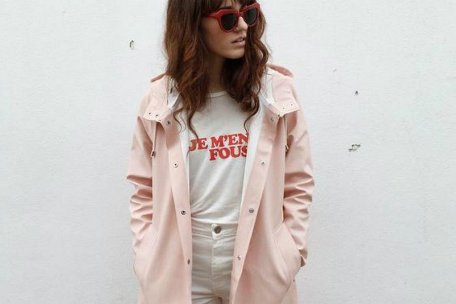 płaszcz przeciwdeszczowy damski