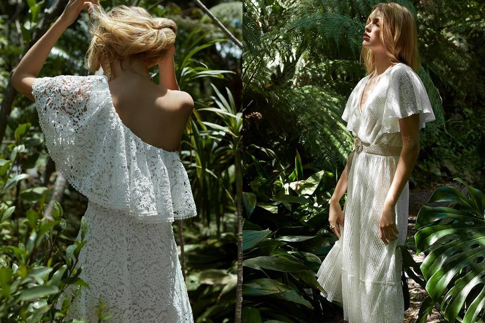 Białe sukienki na lato