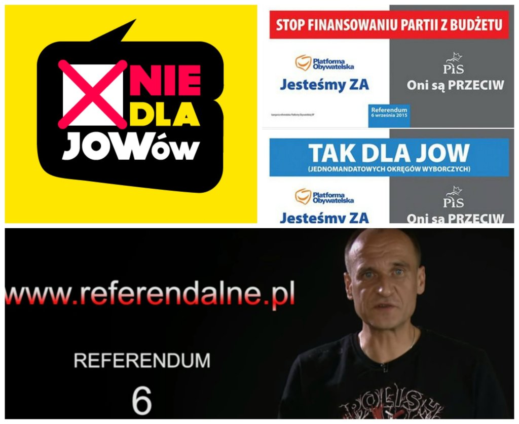 Kampania informacyjna przed referendum 6 września