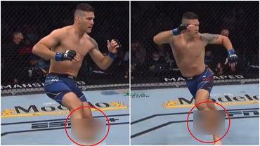 Fatalna kontuzja Chrisa Weidmana podczas walki na gali UFC 261