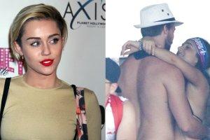 Miley Cyrus, Patrick Schwarzenegger z koleżanką