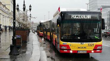 'Poczekalnie' w autobusach miejskich