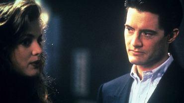 """Heather Graham i Kyle MacLachlan w """"Miasteczku Twin Peaks"""""""