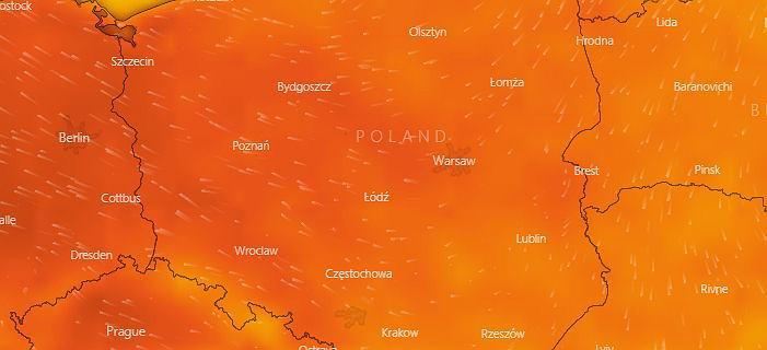 Prognoza pogody. Po gwałtownych burzach do Polski wrócą upały