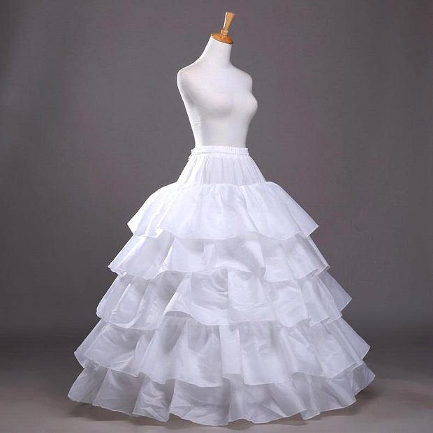 Halka na kole pod suknię ślubną