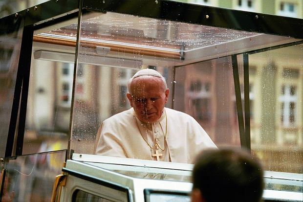 31.05.1997 Wrocław, pielgrzymka papieża Jana Pawla II