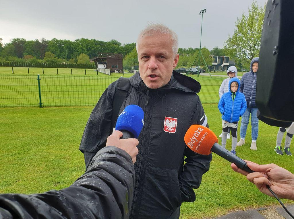 Lekarz reprezentacji Polski - dr Jacek Jaroszewski mówi o kontuzji Arkadiusza Milika