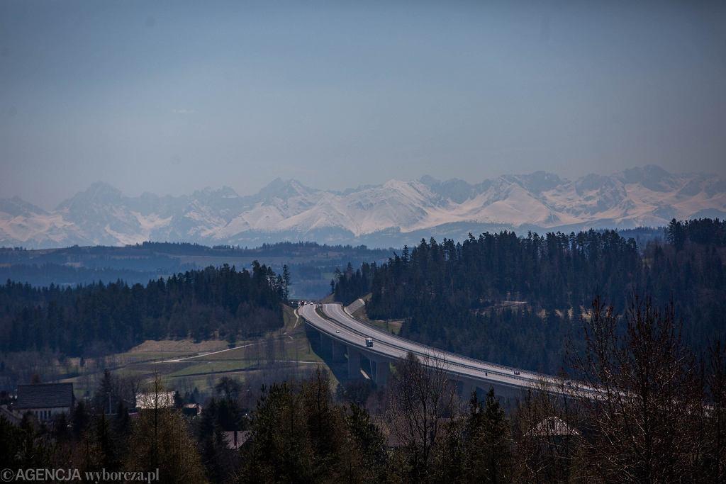 Widok na Tatry (zdjęcie ilustracyjne)