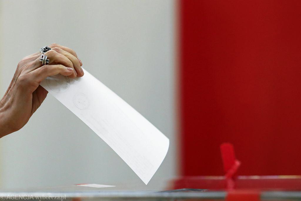 głosowanie wybory (zdjęcie ilustracyjne)