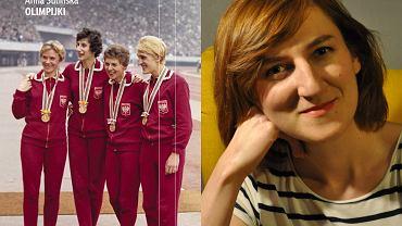 Anna Sulińska, autorka książki 'Olimpijki' (fot. Kamil Kowalczyk)