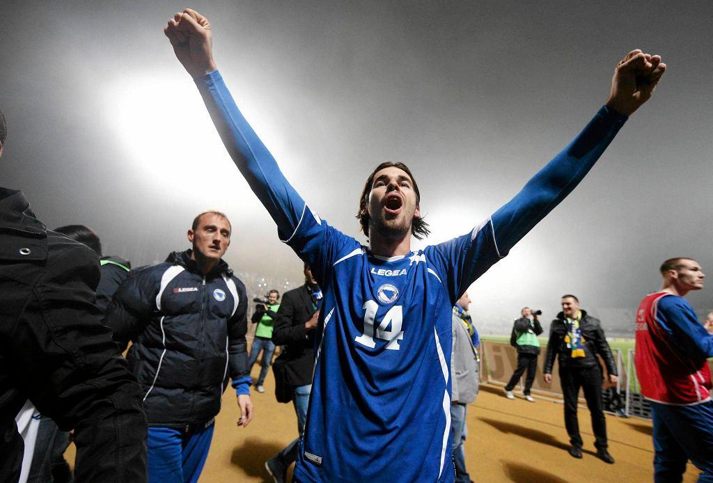 Adnan Zahirović po meczu Bośni i Hercegowiny