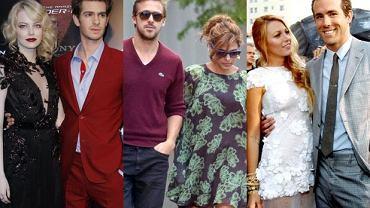 Emma Stone, Andrew Garfield, Eva Mendes, Ryan Gosling, Blake Lively, Ryan Reynolds.