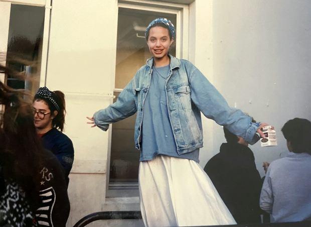 Angelina Jolie w czasach szkolnych