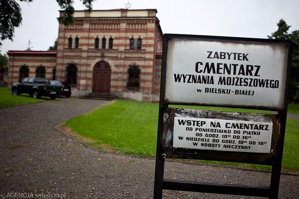 Cmentarz żydowski w Bielsku-Białej w roku 2011