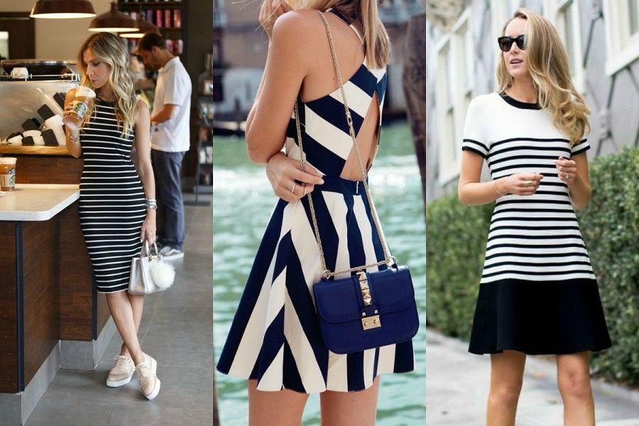 Stylizacje z sukienkami