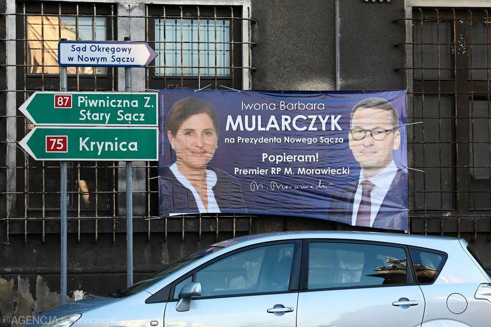 Wybory 2018 Ludomir Handzel Prezydent Elekt Nowego Sącza
