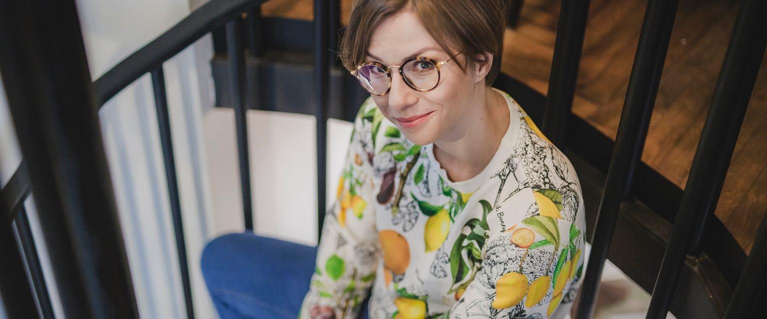 Anna Kowalczyk, autorka bloga boskamatka.pl i książki 'Brakująca połowa dziejów. Krótka historia kobiet na ziemiach polskich' (fot. Edyta Gonet)