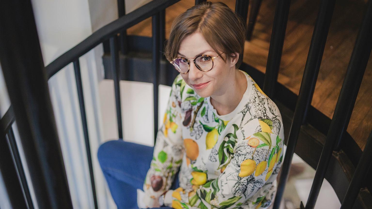 Anna Kowalczyk, autorka bloga boskamatka.pl i książki 'Brakująca połowa dziejów. Krótka historia kobiet na ziemiach polskich'