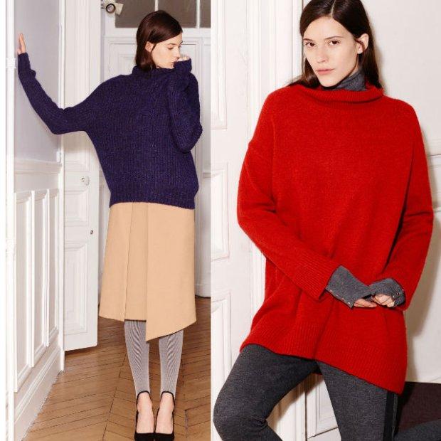Obszerne, nieco za duże swetry będą jesieni bardzo modne