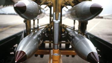 Amerykańskie taktyczne bomby jądrowe B61. Takie znajdują się w gotowości w Europie
