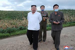 Kim Dżong Un ukarze urzędników za straty spowodowane przez tajfun