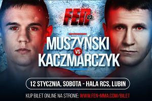 MMA. Muszyński rywalem Kaczmarczyka podczas FEN 23