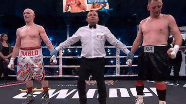 Krzysztof 'Diablo' Włodarczyk wrócił na ring i wygrał