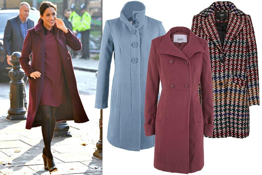 Kolorowe klasyczne płaszcze