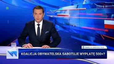 'Wiadomości' TVP z 30.09.2019