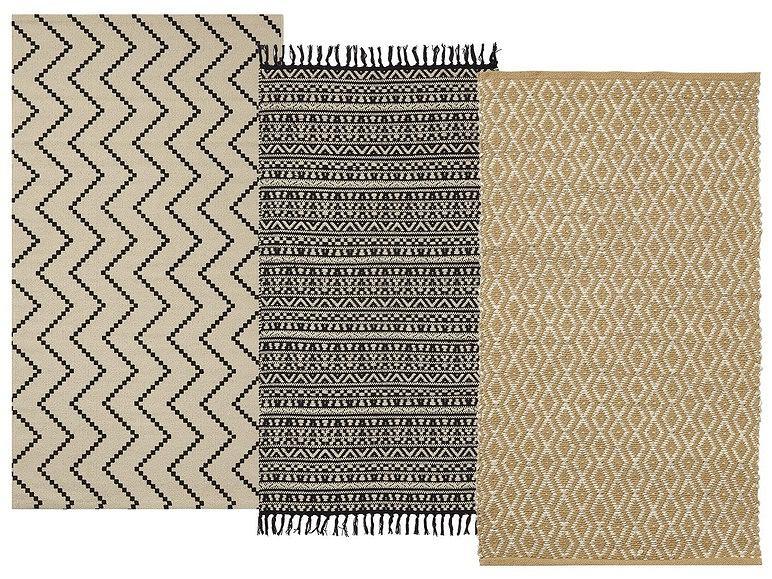 Dywany z wzorem etno