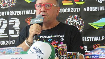 Konferencja Jurka Owsiaka przed Przystankiem Woodstock 2017