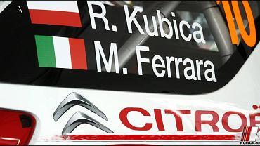 Robert Kubica i Michele Ferrara