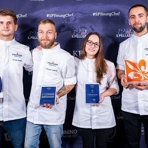 Krzysztof Konieczny i Łukasz Moneta podczas półfinału S.Pellegrino Young Chef 2020