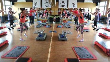 Wpadnij charytatywnie poćwiczyć fitness