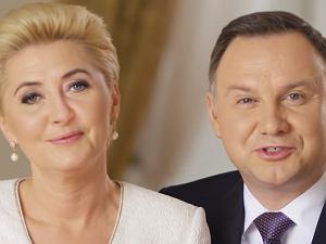 Prezydent Andrzej Duda i Agata Duda