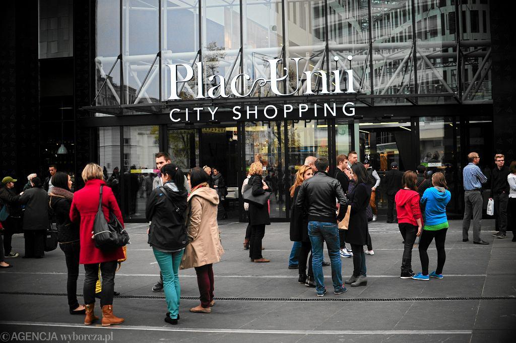 Plac Unii City Shopping w Warszawie (zdjęcie ilustracyjne)
